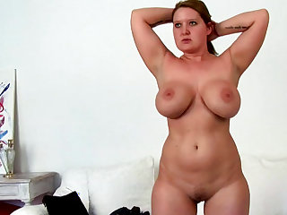 Charlie  is a chubby babe with truly giant boobies