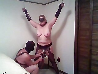 BBW flogged and toyed