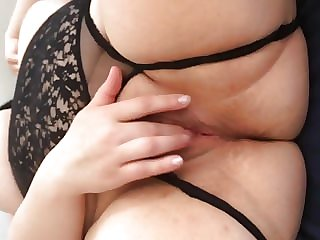 My wife rubbing her pussy